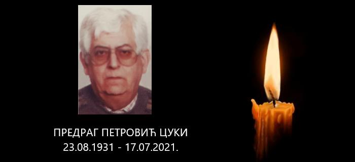In Memoriam – Predrag Petrović Cuki